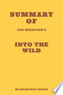 Summary of Jon Krakauer s Into the Wild