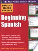 Practice Makes Perfect Beginning Spanish Book