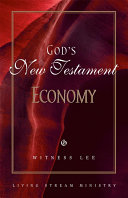 God's New Testament Economy Book
