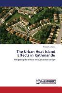 The Urban Heat Island Effects in Kathmandu