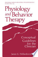 Physiology and Behavior Therapy
