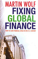 Fixing Global Finance Book