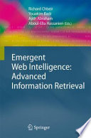 Emergent Web Intelligence  Advanced Information Retrieval