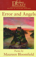 Error and Angels: Poems