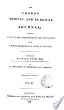 The London Medical And Surgical Journal Book