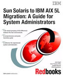 Pdf Sun Solaris to IBM AIX 5L Migration: A Guide for System Administrators