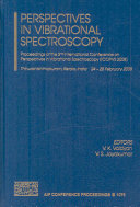 Perspectives in Vibrational Spectroscopy