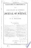 The Cincinnati Quarterly Journal Of Science