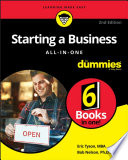 """""""Starting a Business All-in-One For Dummies"""" by Bob Nelson, Eric Tyson"""