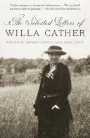 Pdf The Selected Letters of Willa Cather
