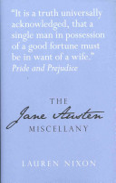 The Jane Austen Miscellany