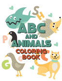 ABC And Animals Coloring Book