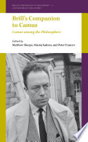 Brill's Companion to Camus