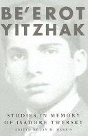 Be erot Yitzhak