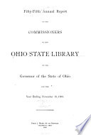 Annual Report of the Commissioners of the Ohio State Library
