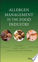 Allergen Management in the Food Industry