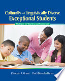Culturally and Linguistically Diverse Exceptional Students