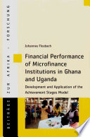 Financial Performance Of Microfinance Institutions In Ghana And Uganda