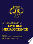 Encyclopedia of Behavioral Neuroscience Book