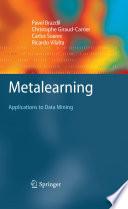 Metalearning