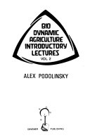 Bio Dynamic Agriculture Introductory Lectures