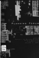 Planning Forum Book