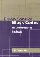 Error-control Block Codes for Communications Engineers