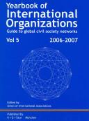 Yearbook Of International Organizations 2006 2007