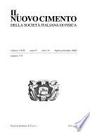 Il Nuovo cimento della Società italiana di fisica