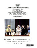 Debrett s Book of the Royal Wedding