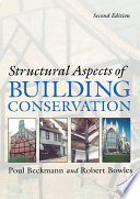 Structural Aspects of Building Conservation Book