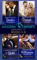 Modern Romance January 2017 Books 5 - 8 Book