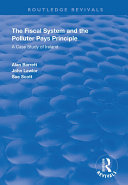 The Fiscal System and the Polluter Pays Principle Pdf/ePub eBook