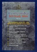 Concordia Self Study Bible NIV