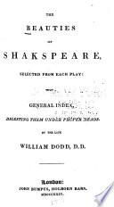 The Beauties of Shakespeare