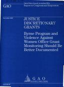 Justice Discretionary Grants