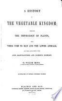 A History of the Vegetable Kingdom
