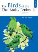 The Birds of the Thai-Malay Peninsula