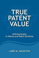 True Patent Value
