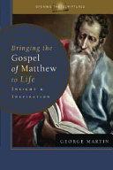 Bringing The Gospel Of Matthew To Life