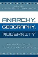 Anarchy, Geography, Modernity ebook