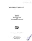 Premarket Approval  PMA  Manual