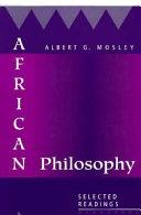 African Philosophy Book PDF