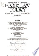 Journal of Food Law & Policy