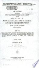 Merchant Seamen Benefits