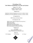 Proceedings of the 33rd Midwest Symposium on Circuits and Systems