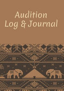 Audition Log   Journal Book PDF