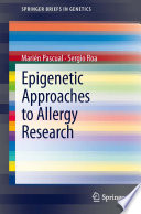 Epigenetic Approaches to Allergy Research Book