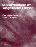 Identification of Vegetable Fibres Book
