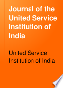 Journal of the United Service Institution of India